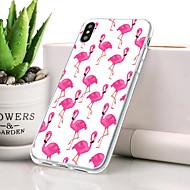 billige -Etui Til Apple iPhone XR Støvsikker / Ultratyndt / Mønster Bagcover Flamingo Blødt TPU for iPhone XR