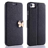 Недорогие Кейсы для iPhone 8 Plus-Кейс для Назначение Apple iPhone X / iPhone 8 / iPhone XS Бумажник для карт / со стендом / Флип Чехол Сияние и блеск Твердый Кожа PU для iPhone XS / iPhone XR / iPhone XS Max