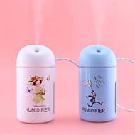 abordables Pequeños Electrodomésticos-Mini humidificador de aire usb humidificador ultrasónico coche difusor de aroma de aceite esencial eléctrico difusor taza