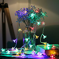 cheap -3m String Lights 20 LEDs Multi Color Decorative AA Batteries Powered 1 set