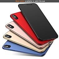 Недорогие Кейсы для iPhone 8 Plus-Кейс для Назначение Apple iPhone XR / iPhone XS Max Ультратонкий / Матовое Кейс на заднюю панель Однотонный Твердый ПК для iPhone XS / iPhone XR / iPhone XS Max