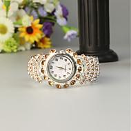FEIS Dame Armbåndsur Quartz Sølv Kronograf Analog-digital Damer Mode - Kaffe