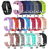 Uhrenarmband für Fitbit Charge 2 Fitbit Sport Band Silikon Handschlaufe