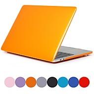 """abordables 10% de DESCUENTO y Más-MacBook Funda Un Color / Transparente Policarbonato para Nuevo MacBook Pro 15"""" / MacBook Pro 15 Pulgadas / MacBook Pro 15 Pulgadas con Pantalla Retina"""