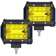cheap -OTOLAMPARA 2pcs Car Light Bulbs 60 W SMD 3030 6000 lm 20 LED Working Light For