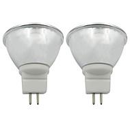 abordables Focos LED-2pcs 3.5 W 250-270 lm GU5.3 Focos LED 1 Cuentas LED COB Blanco Cálido / Blanco Fresco 220-240 V / 110-120 V