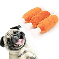 abordables -Peluches / Jouets sonores Os Pluche Pour Chiens / Chats