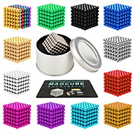 cheap Novelty Toys-216 pcs 3mm Magnet Toy Magnetic Balls Magnet Toy Super Strong Rare-Earth Magnets Magnetic Stress and Anxiety Relief Office Desk Toys Relieves ADD, ADHD, Anxiety, Autism Novelty Teenager / Adults' All