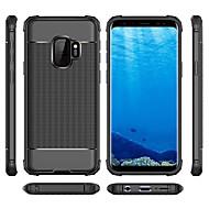 Недорогие Чехлы и кейсы для Galaxy S8-Кейс для Назначение SSamsung Galaxy S9 Plus / S9 Защита от удара Кейс на заднюю панель Однотонный Мягкий ТПУ для S9 / S9 Plus / S8 Plus