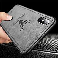 케이스 제품 Apple iPhone XR / iPhone XS Max 울트라 씬 / 엠보싱 텍스쳐 뒷면 커버 동물 소프트 TPU 용 iPhone XS / iPhone XR / iPhone XS Max