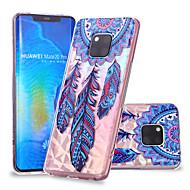 お買い得  携帯電話ケース-ケース 用途 Huawei Huawei Mate 20 Lite / Huawei Mate 20 Pro パターン バックカバー ドリームキャッチャー ソフト TPU のために Huawei Nova 3i / P smart / Huawei P Smart Plus