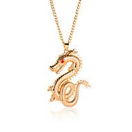 levne -Dámské Klasika Náhrdelníky s přívěšky - Zlatá 65 cm Náhrdelníky Šperky 1ks Pro Denní