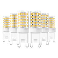 abordables Luces LED de Doble Pin-YWXLIGHT® 6pcs 10 W 600-800 lm G9 Luces LED de Doble Pin T 86 Cuentas LED SMD 2835 Blanco Cálido / Blanco Fresco / Blanco Natural 220-240 V