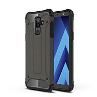 Недорогие Чехлы и кейсы для Galaxy А-Кейс для Назначение SSamsung Galaxy A6+ (2018) Защита от удара Кейс на заднюю панель броня Твердый ПК для A6+ (2018)