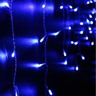 abordables Tiras de Luces LED-Brelong led3x1 metro cortina cascada impermeable luz cadena 1 pc