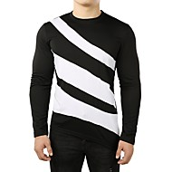cheap -Men's Basic T-shirt - Color Block