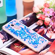 preiswerte Handyhüllen-Hülle Für Xiaomi Redmi 5 Stoßresistent / Glänzender Schein Rückseite Glänzender Schein / Blume Weich TPU für Xiaomi Redmi 5