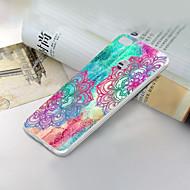 お買い得  携帯電話ケース-ケース 用途 Huawei Honor 9 Lite 超薄型 / パターン バックカバー レース印刷 ソフト TPU のために Huawei Honor 9 Lite