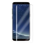 Недорогие Чехлы и кейсы для Galaxy S-Защитная плёнка для экрана для Samsung Galaxy S8 TPU 1 ед. Защитная пленка для экрана HD / Ультратонкий / 3D закругленные углы