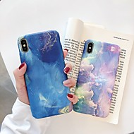abordables Coques pour iPhone XS Max-Coque Pour Apple iPhone XR / iPhone XS Max Phosphorescent / Dépoli / Motif Coque Dégradé de Couleur Dur PC pour iPhone XS / iPhone XR / iPhone XS Max