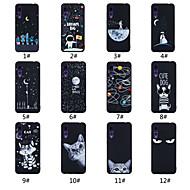 preiswerte Handyhüllen-Hülle Für Huawei P20 Pro / P20 lite Mattiert / Muster Rückseite Wort / Satz / Landschaft / Tier Weich TPU für Huawei P20 / Huawei P20 Pro / Huawei P20 lite
