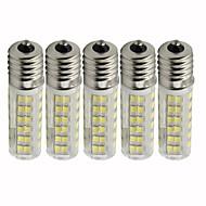 abordables Bombillas LED de Mazorca-5pcs 4.5 W 450 lm E17 Bombillas LED de Mazorca T 76 Cuentas LED SMD 2835 Regulable Blanco Cálido / Blanco Fresco 110 V