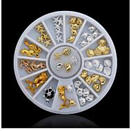 billige -1 pcs Negle Smykker Multifunktionel / Bedste kvalitet Kreativ Negle kunst Manicure Pedicure Daglig Trendy / Mode