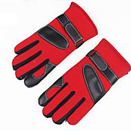 cheap -Men's Work / Basic Fingertips Gloves - Color Block
