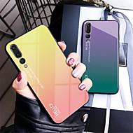 preiswerte Handyhüllen-Hülle Für Huawei P20 / P20 Pro Spiegel Rückseite Farbverläufe Hart Gehärtetes Glas für Huawei P20 / Huawei P20 Pro / Huawei P20 lite
