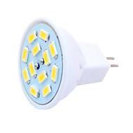 halpa -SENCART 6kpl 1.5 W LED-kohdevalaisimet 450 lm G4 MR11 MR11 12 LED-helmet SMD 5730 Koristeltu Lämmin valkoinen Kylmä valkoinen 12-24 V