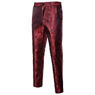cheap -Men's Street chic Suits Pants - Geometric Black / Sports