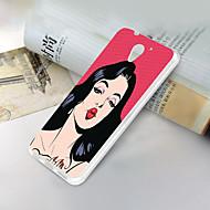 preiswerte Handyhüllen-Hülle Für ZTE ZTE Blade A510 Ultra dünn / Muster Rückseite Sexy Lady Weich TPU für ZTE Blade A510