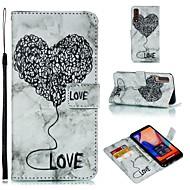 Coque Pour Samsung Galaxy S9 Plus / Note 9 Portefeuille / Porte Carte / Clapet Coque Intégrale Cœur / Marbre Flexible faux cuir pour S9 / S9 Plus / S8 Plus