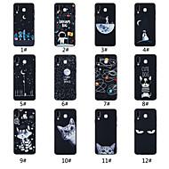 abordables Fundas / Carcasas para Galaxy Serie A-Funda Para Samsung Galaxy A9 Star / A7 (2018) Congelada / Diseños Funda Trasera Palabra / Frase / Paisaje / Animal Suave TPU para A5(2018) / A6 (2018) / A6+ (2018)