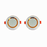 cheap -2pcs 5 W 360 lm 20 LED Beads Easy Install Recessed LED Downlights Warm White Cold White 220-240 V Ceiling Home / Office Living Room / Dining Room