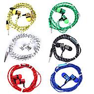 billige -LITBest WP01 I øret Ledning Hovedtelefoner Høretelefon ABS + PC Mobiltelefon øretelefon Sej / Stereo / Med Mikrofon Headset