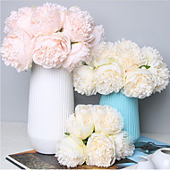 tanie -Sztuczne Kwiaty 1 Gałąź Klasyczny Ślub / Kwiaty ślubne Piwonie Bukiety na stół