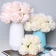 cheap -Artificial Flowers 1 Branch Classic Wedding / Wedding Flowers Peonies Tabletop Flower