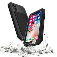 Etui Til Apple iPhone 8 / iPhone 7 Vanntett / Støtsikker Heldekkende etui Rustning Hard Metall til iPhone XS / iPhone XR / iPhone XS Max