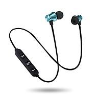 זול -bestsin M10 באוזן Bluetooth 4.2 אוזניות אוזניות מעטפת פלסטיק טלפון נייד אֹזְנִיָה סטריאו / עם מיקרופון / עם בקרת עוצמת הקול אוזניות