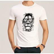 cheap -Men's Street chic T-shirt - Animal