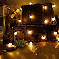 Недорогие -Праздничные украшения Новый год Праздничные огни Светодиодная лампа Теплый белый 1шт