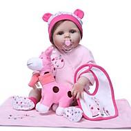 お買い得  -NPKCOLLECTION リボーンドール ガールドール 赤ちゃん(女) 24 インチ シリコーン ビニール - キュート 新デザイン 人工インプラントブルーアイズ 子供 おもちゃ ギフト