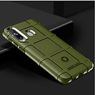 tanie -Kılıf Na Samsung Galaxy A7 (2018) / Galaxy A9 (2018) Odporny na wstrząsy Osłona tylna Solidne kolory Miękka Silikon na A7 (2018) / Galaxy A9 (2018)