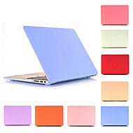 """זול -MacBook נרתיק אחיד PVC ל מקבוק פרו13אינץ'עם תצוגת רטינה / מקבוק אייר13אינץ' / New MacBook Air 13"""" 2018"""