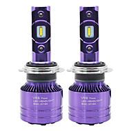 levne -SO.K 2pcs 9007 / H7 / H4 Auto Žárovky 25 W CSP 8000 lm 2 LED Mlhovky / Čelovka Pro Všechny roky