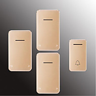 cheap -Factory OEM Wireless One to Three Doorbell Music / Ding dong Non-visual doorbell Surface Mounted