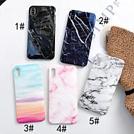 Etui Käyttötarkoitus Apple iPhone XR / iPhone XS Max IMD Takakuori Marble Pehmeä TPU varten iPhone XS / iPhone XR / iPhone XS Max