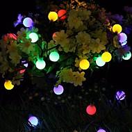 Недорогие -Праздничные украшения Новый год / День Святого Валентина Праздничные огни Светодиодная лампа Белый / Цветастый / Теплый белый 1шт