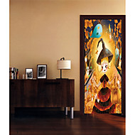 Недорогие -Декоративные наклейки на стены - Простые наклейки Геометрия / Праздник Гостиная / Спальня